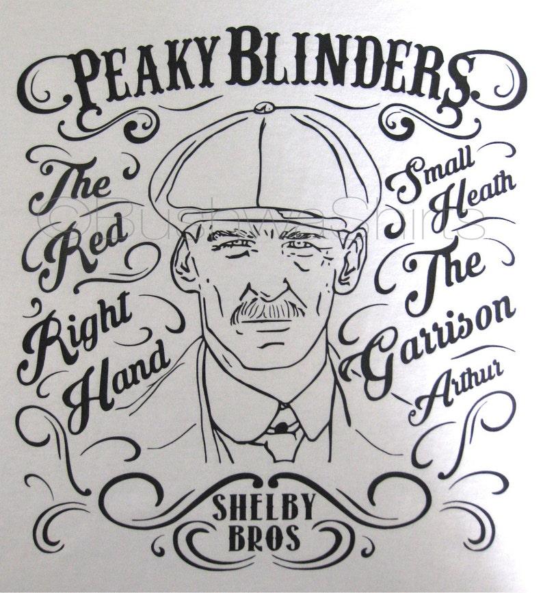 840530520 PEAKY BLINDERS Inspired T Shirt Tee Shirt Top Mens   Etsy