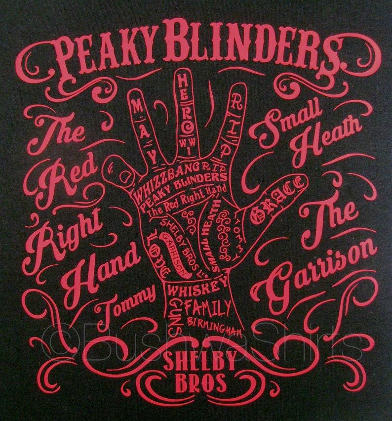 2867816c4 PEAKY BLINDERS Inspired T Shirt Tee Shirt Top Mens 'The   Etsy