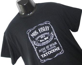 SCIFI Mos Eisley / Star Wars Cantina Inspired Funny Tee Shirt T Shirt Top Mens