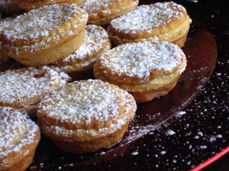 Recipe For Traditional English Christmas Mince Pies