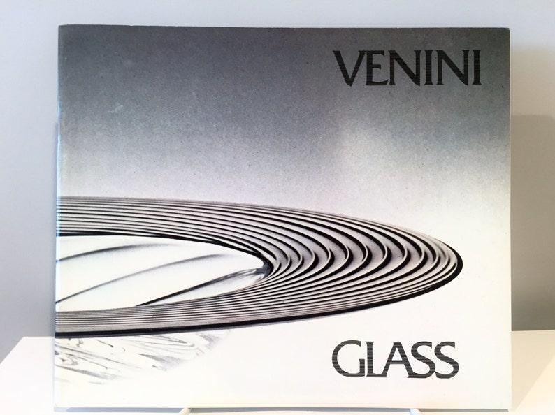 Venini Glass Exhibition Catalog 1981 image 0