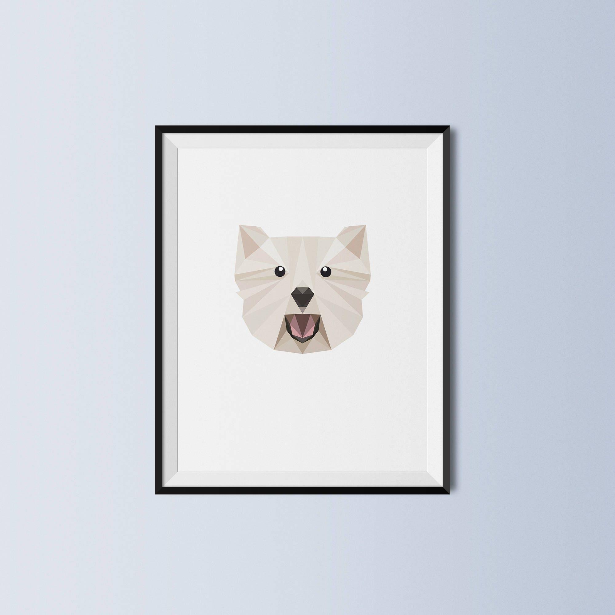 PET-Geschenk Weihnachten Geschenk Westie West Highland | Etsy