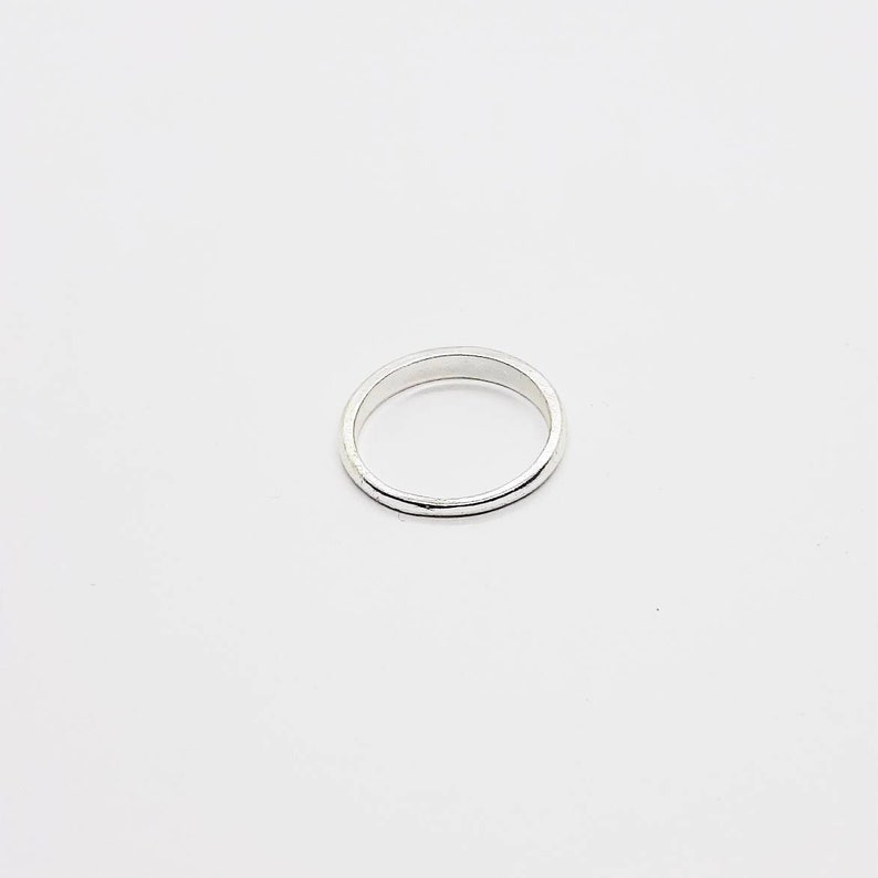 Vintage Silver-tone Ring UK Ring Size O12-90/'s
