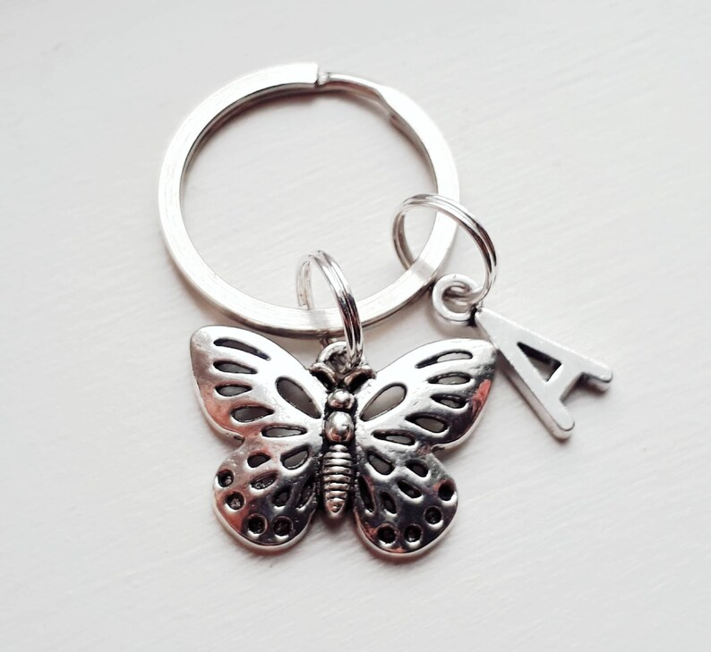 Butterfly Dog Face Custom Guitar Pick Pendant Necklace Keychain