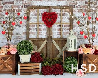 Valentines Backdrop Etsy