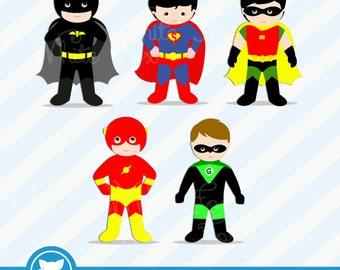 superhero girl clipart 1 free super girl clipart little rh etsy com Free Superhero Background Free Superhero Clip Art for Teachers