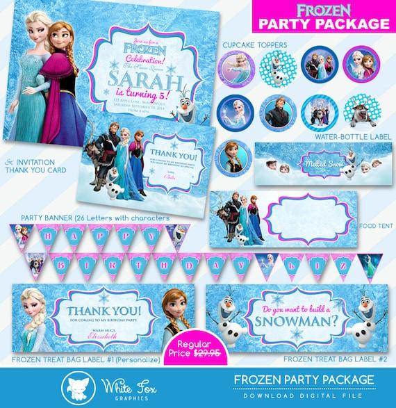 Frozen invitation disney frozen birthday invitation disney etsy image 0 filmwisefo