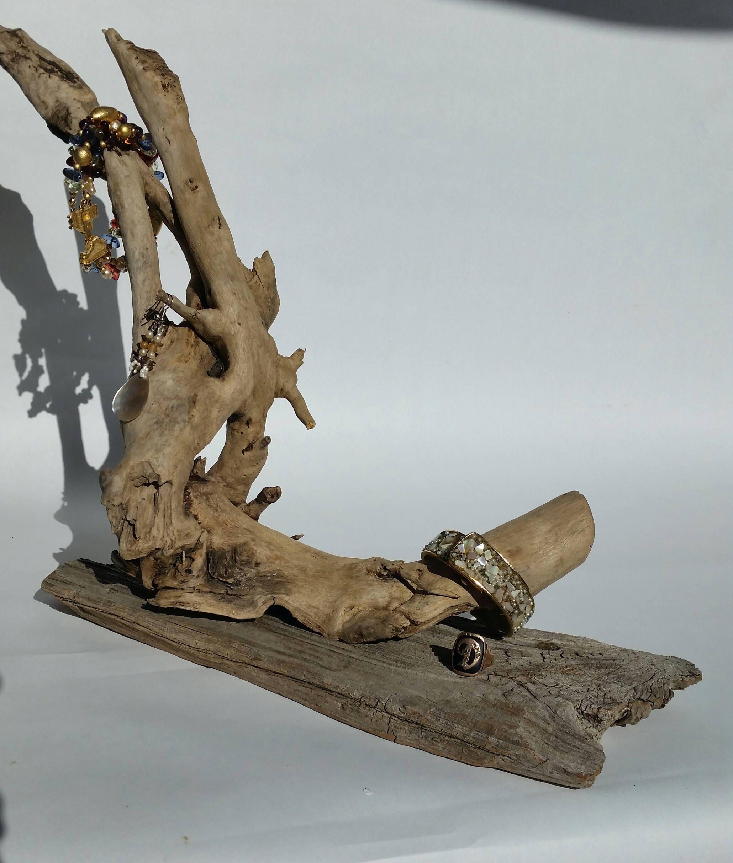 amazing Driftwood Jewelry Holder Part - 14: Wood Drift Designs