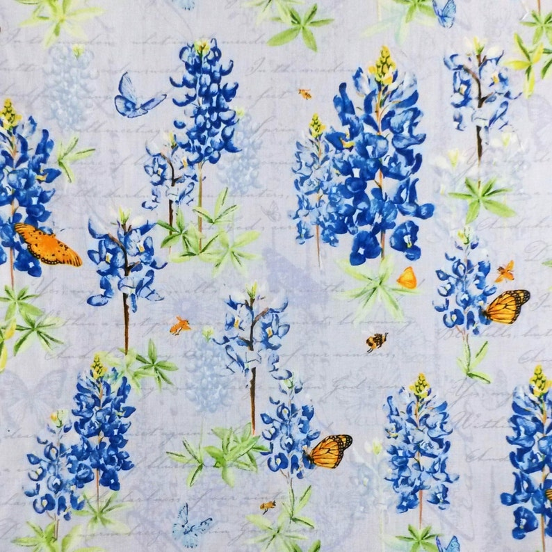 Berry Half Metre//Metre Michael Miller Butterflies - 100/% Cotton Fabric