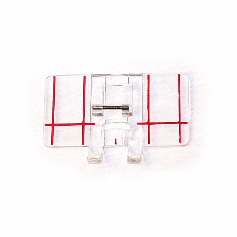 1//4 INCH PATCHWORK QUILTING FOOT CLEAR Fits MOST SNAP ON SEWING MACHINES