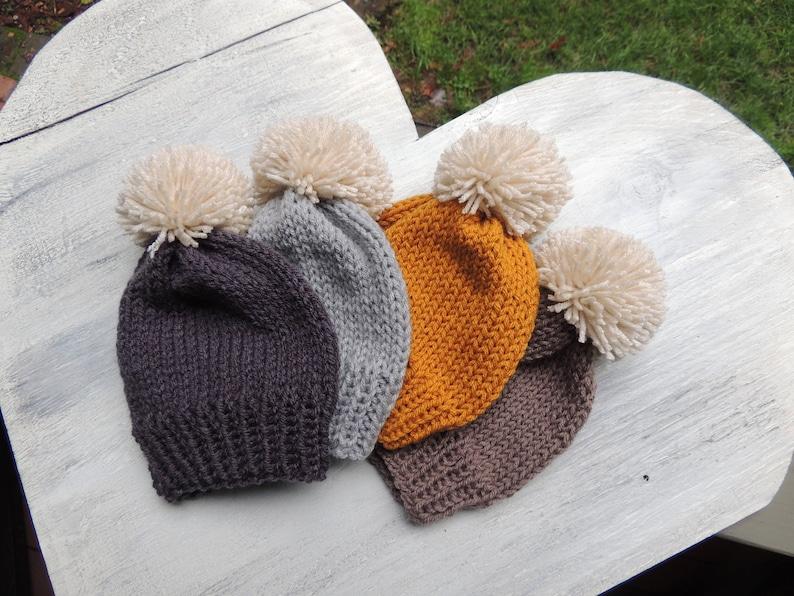 7fda1c39d24 Baby Hats Knit Stocking hat Knit Hats Knit Baby Hats Ski