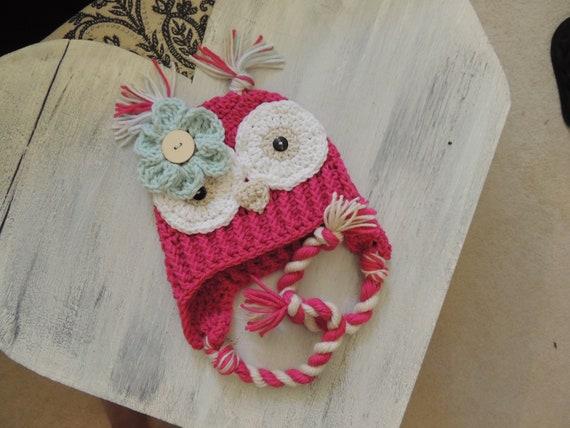 373c612c4 Crochet Owl Hat, Luv Beanies, Baby Owl hats, Baby hats, Girl hats, Animal  hats, hats for kids, Baby photo prop, Owl beanies, Hats for kids