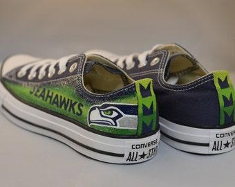4ef6c5e3004852 Seahawks Converse Shoes