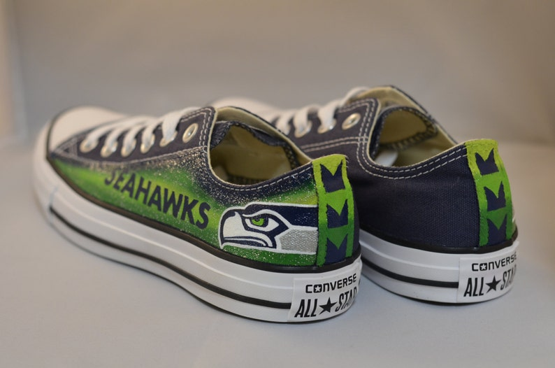 Seahawks Converse Shoes  46921c776