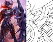 Iron Solari Leona - Sword...