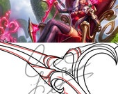 Cosplay PDF Vector Patter...