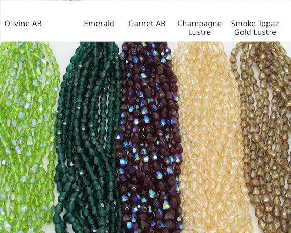 25 Sapphire AB Czech Firepolished Teardrop Teardrops Glass Beads 7x5mm