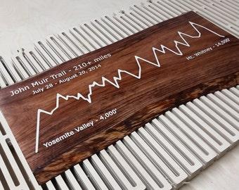 Wood Inlay Sign
