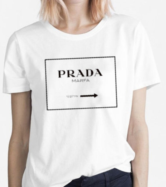 904476361ca9cb Prada T-Shirt Women s Prada Woman Prada White Shirt   Etsy