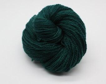 Hand Dyed DK British BFL & Masham Wool Yarn - Teal
