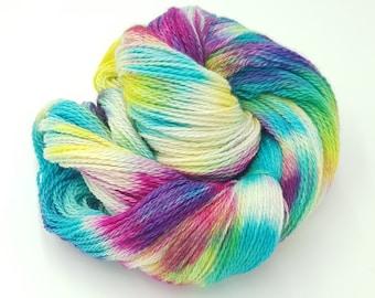 Hand Dyed 4ply Falkland Merino Wool - Spring Morning