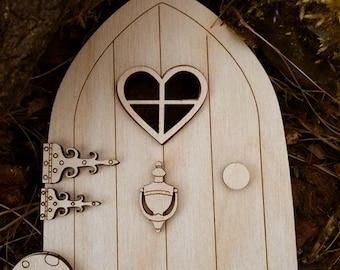 3 Fairy Doors with embelishments