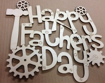 Happy Fathers Day Plaque