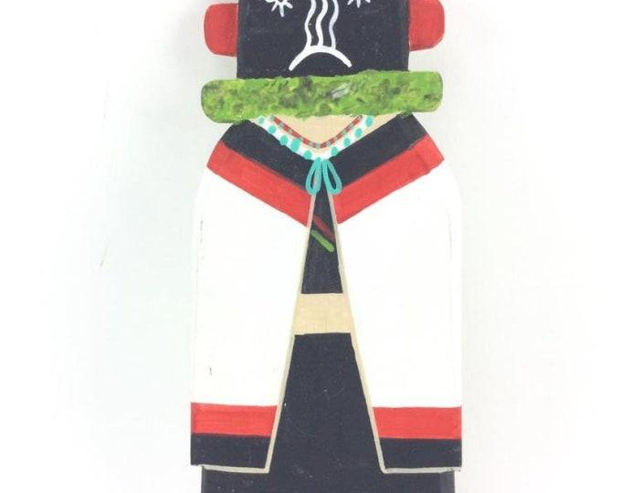 Native American Hopi Katsina Kachina Cradle Doll Hand Carved