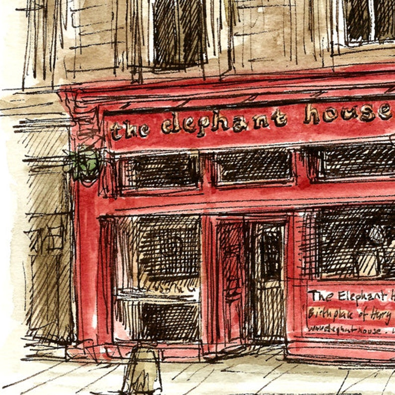 aa547edbfaf2 The Elephant House coffee shop in Edinburgh Scotland. High