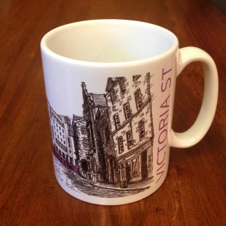 Victoria Street Edinburgh Mug image 0