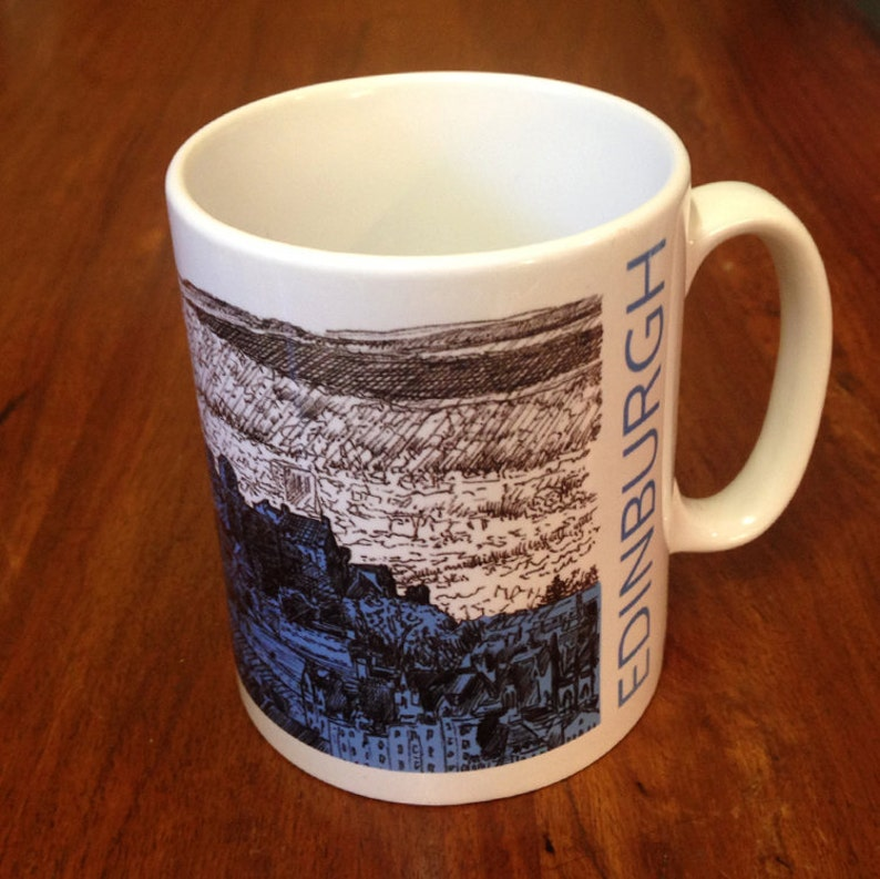 Edinburgh Castle Skyline Mug image 0