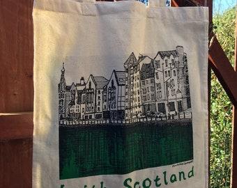 Screen Printed Tote Bag of Leith