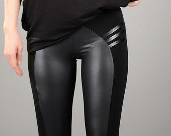 Sexy women in tight yoga pants