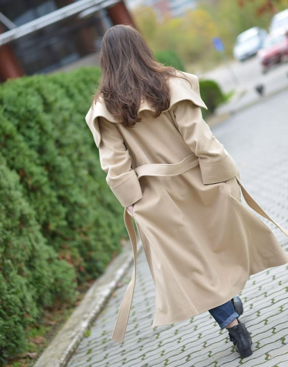33b872fd5c04e Maxi Coat Plus Size Clothing Wool Coat Winter Coat Women