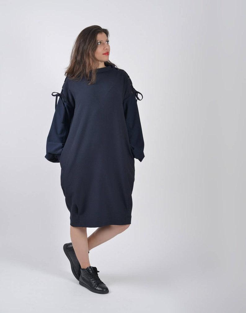 6a5da403087 Wool Sweater Dress Black Sweater Dress Long Sleeve Dress