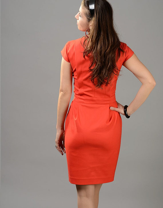 Dress Red Dress Pencil Cocktail Simple Knee Dress Dress Red Dress Evening Dress Dress Midi Dress Formal Office Party Length Dress x1wvX6qU