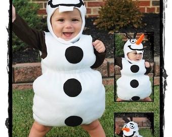 ce6f4a04460b Snowman Halloween Costume - Frozen Snowman