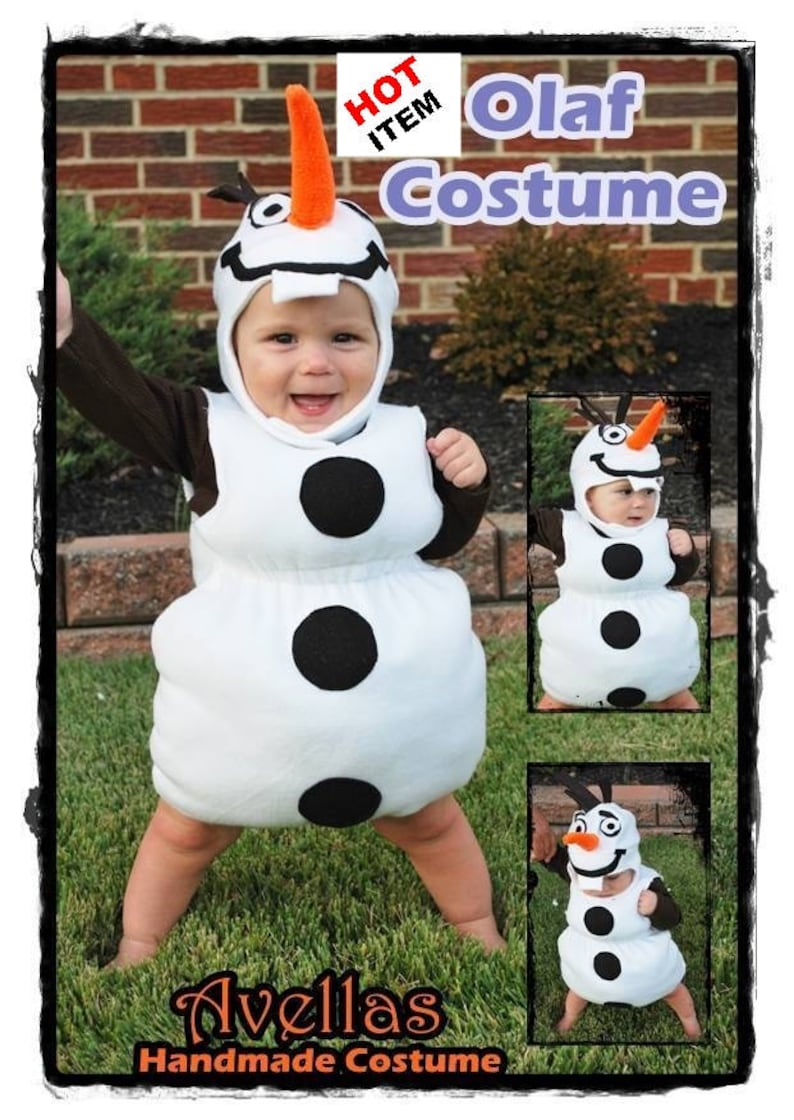 Snowman Halloween Costume
