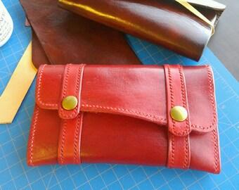 Custom Ladies Leather Wallet