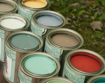 Wise Owl Chalk Synthesis Paint, Chalk Painted Furniture, Shabby Chic, Painting Supplies, Home Decor, Vintage, Furniture Project
