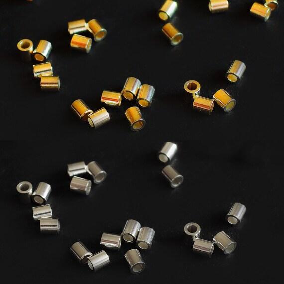 Silberperlen Spacer mini Kugeln rund 925 Silber gold rosegold glänzend 3,5 mm