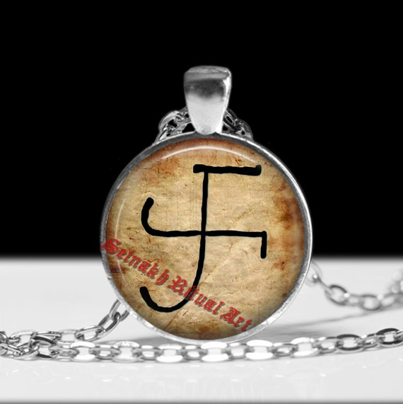 Galdrastafur Thors Hammer Symbol Talisman Galdr Amulet Etsy