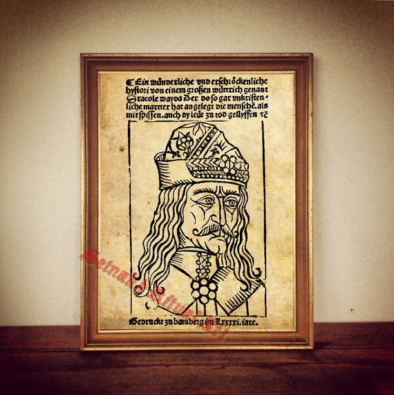 Art print poster//canvas Vlad Tepes House Of Dracula
