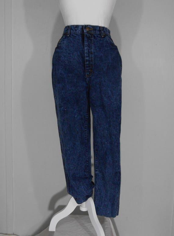 03dda7e228 80s High Waist Lee Jeans Women s 100% Cotton Dark Wash