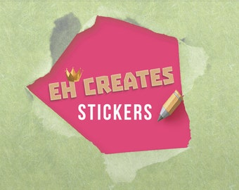 Custom stickers, personalised labels, personalised stickers, custom labels, business logo stickers