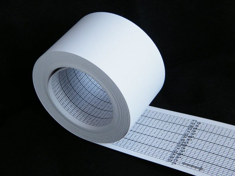 strips for custom music box 30 note paper strip roll 15 image 0