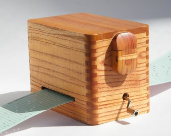 wooden music box, custom music available, 30 note, personalized engraving