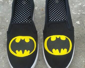 DC: Batman/ Superman/ Supergirl/ The Riddler Shoes