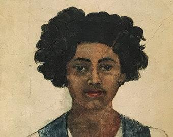 Frida Kahlo-Frida-Art-Self-Portrait-Vintage-Postcard-Mexico-Surrealism-Home decor
