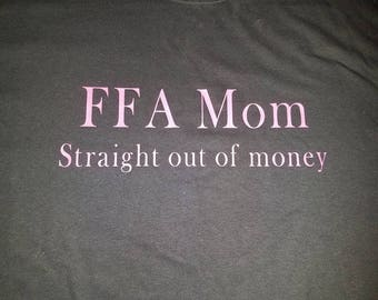 FFA mom straight out of money